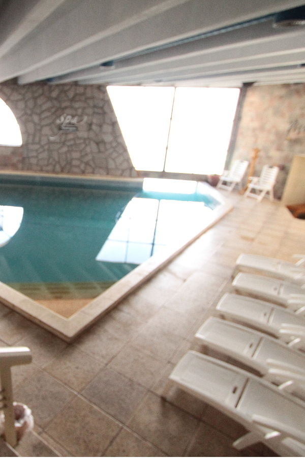 Internal pool Hotel Piscis